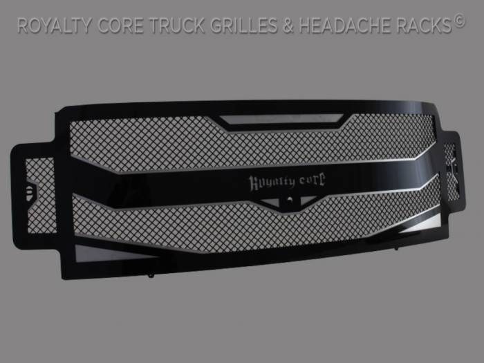 Meyer's - Ford Super Duty 2017-2019 RC4 Layered Full Grille Replacement -Camera Mount