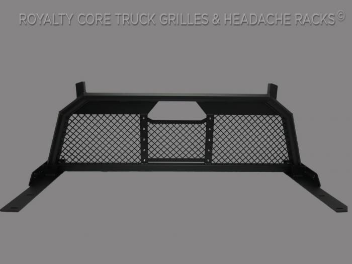 Royalty Core - Dodge Ram 2500/3500/4500 2003-2009 RC88 Billet Headache Rack with Diamond Mesh