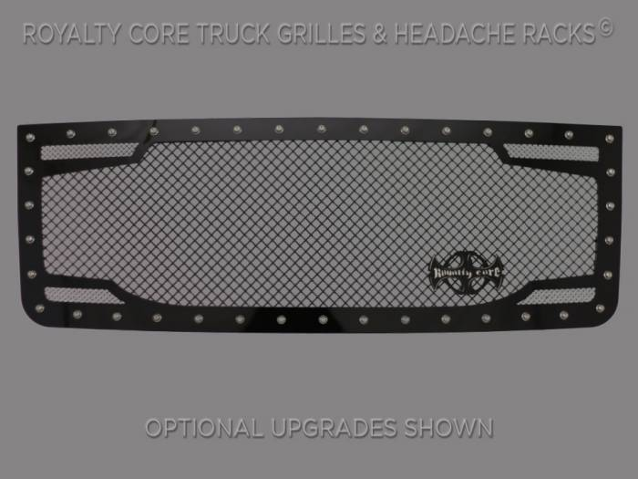 Royalty Core - GMC Sierra HD 2500/3500 2007-2010 RC2 Twin Mesh Grille