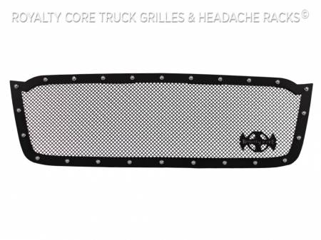 Royalty Core - Chevrolet 2500/3500 2003-2004 Full Grille Replacement RCR Race Line Grille - Image 4