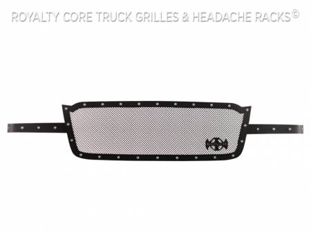 Royalty Core - Chevrolet 2500/3500 2003-2004 Full Grille Replacement RCR Race Line Grille - Image 5