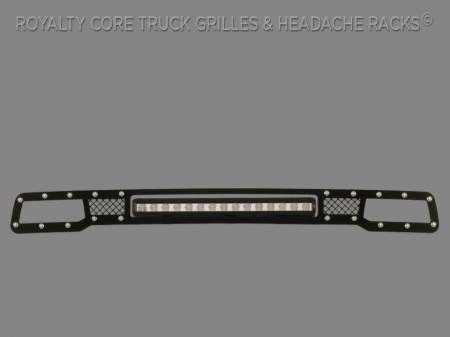 "2500/3500/4500 - 2013-2018 2500, 3500, & 4500 Grilles - Royalty Core - Dodge Ram 2013-2018 2500/3500 Bumper Grille with 20"" LED Bar"