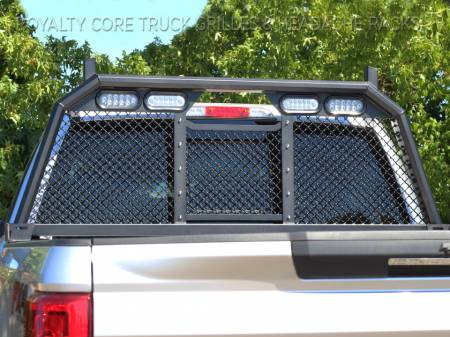 Royalty Core - Ford Superduty F-250 F-350 2017-2019 RC88 Standard Height Headache Rack w/ Integrated Taillights - Image 3