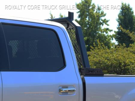 Royalty Core - Ford Superduty F-250 F-350 2017-2019 RC88 Standard Height Headache Rack w/ Integrated Taillights - Image 4