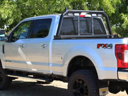 Royalty Core - Ford Superduty F-250 F-350 2017-2019 RC88 Standard Height Headache Rack w/ Integrated Taillights - Image 5