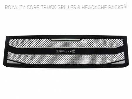 Royalty Core - Chevrolet Silverado 2500/3500 HD 2015-2019 RC4 Layered Grille - Image 2