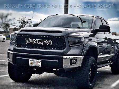 Tundra - 2014-2020 Tundra Grilles - Royalty Core - Toyota Tundra 2014-2020 RC2 Twin Mesh Grille with Tundra Emblem