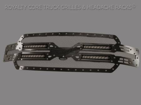Royalty Core - Ford F-150 2018-2020 RC5X Quadrant LED Full Grille Replacement - Image 2