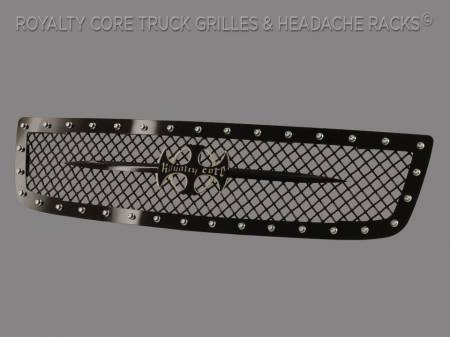 Royalty Core - GMC Sierra 2500/3500 2003-2006 RC1 Main Grille with Black Sword Assembly - Image 2