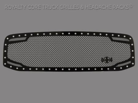 Grilles - RC2 - Royalty Core - Dodge Ram 1500 2006-2008 RC2 Twin Mesh Grille
