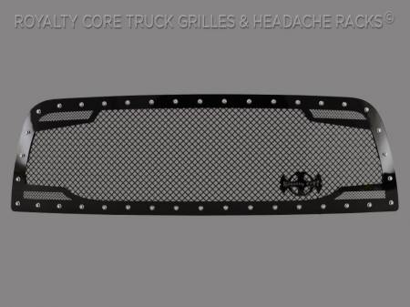 2500/3500 - 2013-2018 - Meyer's - Dodge Ram 2500/3500/4500 2013-2018 RC2 Twin Mesh Grille