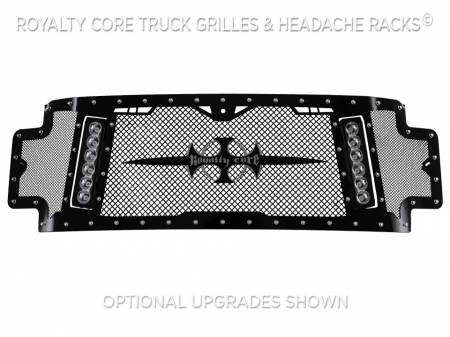 Royalty Core - Ford Super Duty 2017-2019 RCX Explosive Dual LED Full Grille Replacement - Image 3