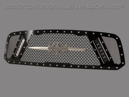 Royalty Core - Dodge Ram 1500 2013-2018 RCX Explosive Dual LED Grille - Image 4