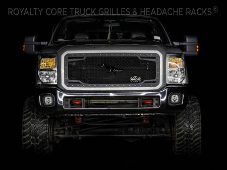 Meyer's - Ford Super Duty 2011-2016 RC2 Twin Mesh Grille - Image 4
