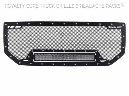 Royalty Core - GMC Sierra 1500, Denali, & All Terrain 2016-2018 RCRX LED Race Line Grille - Image 5