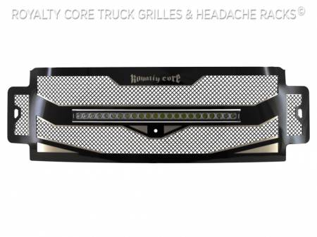 "Royalty Core - Ford Super Duty 2017-2019 RC4X Layered 30"" Curved LED Grille - Image 4"