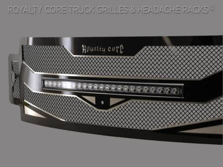 "Royalty Core - Ford Super Duty 2017-2019 RC4X Layered 30"" Curved LED Grille - Image 2"