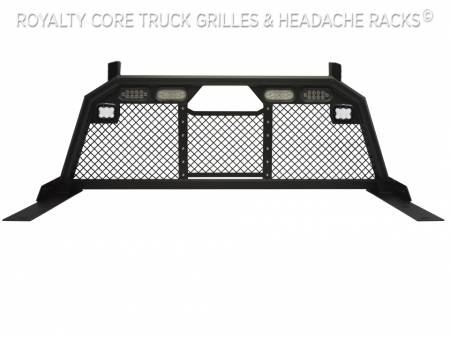 Royalty Core - Ford Superduty F-250 F-350 1999-2010 RC88 Headache Rack w/ Integrated Taillights & Dura PODs - Image 2
