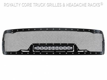 Royalty Core - Chevy 2500/3500 2007-2010 Full Grille Replacement RC1X Incredible LED Grille - Image 4