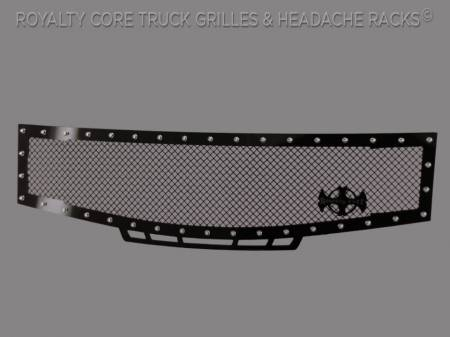 Royalty Core - Nissan Armada 2008-2016 RC1 Grille w/ Matching Bumper Grille Package - Image 3