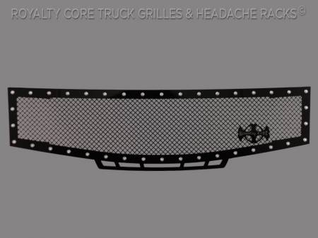 Royalty Core - Nissan Armada 2008-2016 RC1 Grille w/ Matching Bumper Grille Package - Image 2