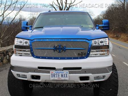 Royalty Core - Chevrolet 2500/3500 2003-2004 Full Grille Replacement RCR Race Line Grille - Image 6