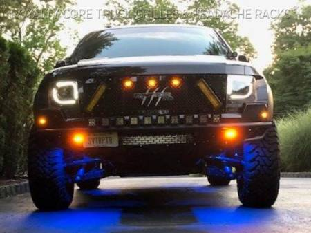 Royalty Core - Ford Raptor 2009-2015 RCX Explosive Dual LED Grille - Image 4