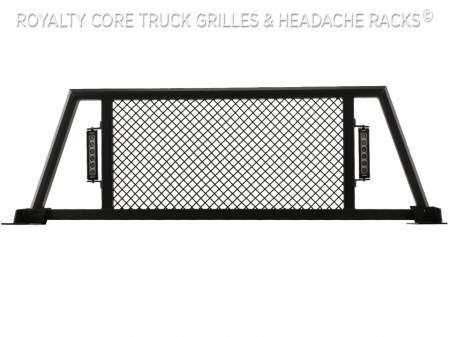 Royalty Core - Dodge Ram 1500 2009-2018 RC88X Ultra Billet Headache Rack with LED Light Bars - Image 6