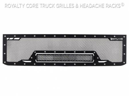 Royalty Core - Chevy 2500/3500 2015-2019 RCRX LED Race Line Grille - Image 4