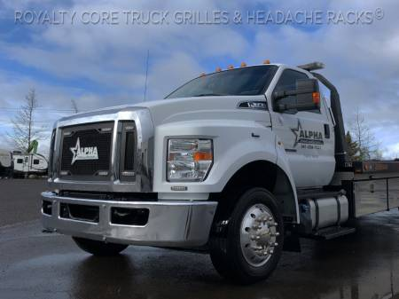 Royalty Core - Ford F650 & F750 2017-2019 RCTE Towing & Emergency Main Grille - Image 2