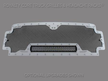 Grilles - RCRXB - Royalty Core - Ford Super Duty 2017-2019 RCRX LED Race Line Full Grille Replacement*STOCK*