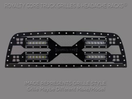 1500 - 2006-2008 1500 Grilles - Royalty Core - Dodge Ram 1500 2006-2008 RC5X Quadrant LED Grille