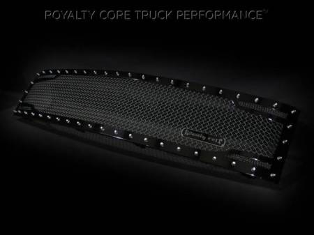 Grilles - RC2 - Royalty Core - Chevrolet 1500 2007-2013 Full Grille Replacement RC2 Twin Mesh Grille*STOCK*