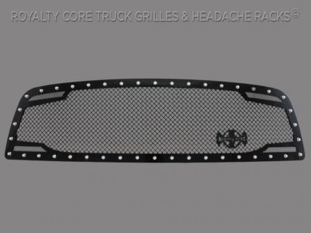 2500/3500/4500 - 2010-2012 2500, 3500, & 4500 Grilles - Grandwest - Dodge Ram 2500/3500/4500 2010-2012 RC2 Twin Mesh Grille