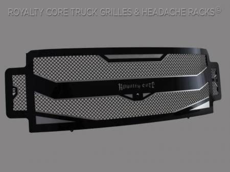 Meyer's - Ford Super Duty 2017-2019 RC4 Layered Full Grille Replacement-Camera Mount