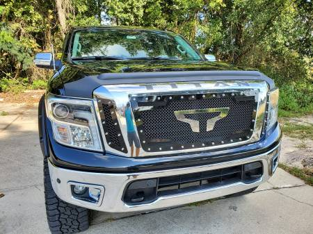 Royalty Core - Nissan Titan 2016-2018 RC2 Twin Mesh Grille - Image 3