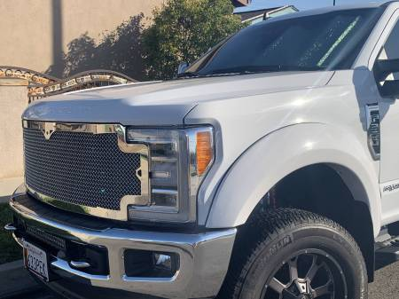 Super Duty - 2017-2019 Super Duty Grilles - Royalty Core - Ford Super Duty 2017-2019 RC1 Classic Full Grille Replacement Chrome