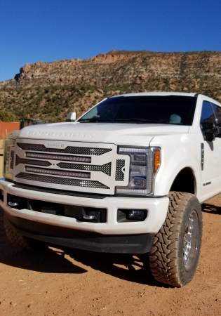 "Royalty Core - Ford Super Duty 2017 - 2019 F-250/F-350/F-450 RC4 DOUBLEX Layered with TWO 30"" Curved LED Grille - Image 2"