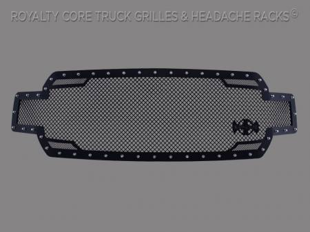 Grilles - RC2 - Royalty Core - Ford F-150 2018-2020 RC2 Twin Mesh Full Grille Replacement