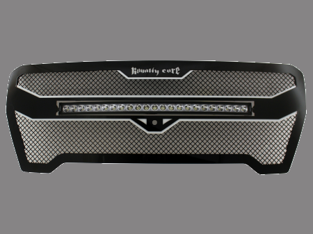 "Royalty Core - GMC Sierra & Denali 1500 2019+ RC4X Layered 30"" Curved LED Grille - Image 1"