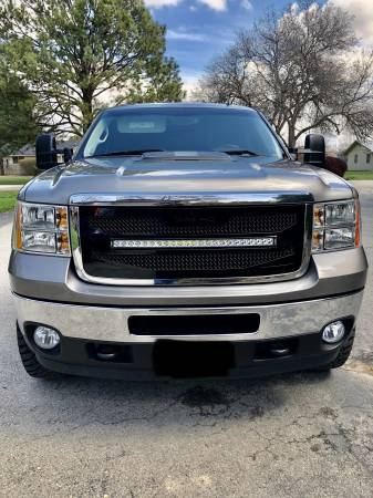 "Royalty Core - GMC Sierra HD 2500/3500 2011-2014  RC4X Layered 30"" Curved LED Grille - Image 3"
