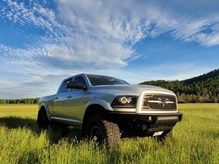 Royalty Core - Dodge Ram 2500/3500 2013-2018 RC2 Grille Twin Mesh w/ Speared Ram Sword Assembly - Image 2