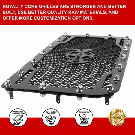 Royalty Core - Chevy 2500/3500 2011-2014 Full Grille Replacement RC1 Classic Grille - Image 5