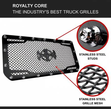 Royalty Core - Chevy 2500/3500 2011-2014 Full Grille Replacement RC1 Classic Grille - Image 4