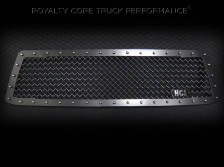 Tundra - 2010-2013 Tundra Grilles - Royalty Core - Toyota Tundra 2010-2013 RC1 Main Grille Satin Black