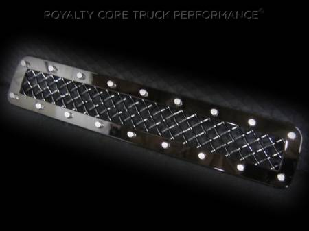 2500/3500 Denali - 2011-2014 - Royalty Core - GMC Sierra HD 2500/3500 2011-2014 Middle Bumper Grille