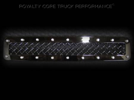 Royalty Core - GMC Denali HD 2500/3500 2011-2014 Middle Bumper Grille - Image 2