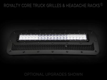 Titan - 2004-2015 Titan Grilles - Royalty Core - Nissan Titan 2004-2015 RCRX LED Bumper Grille