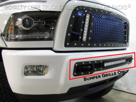 "Royalty Core - Dodge Ram 2013-2018 2500/3500 Bumper Grille with 20"" LED Bar - Image 4"