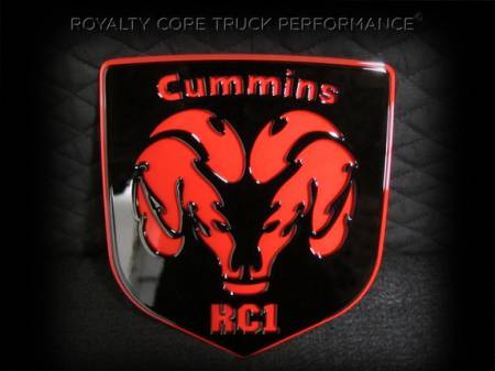 Emblems - Royalty Core - Cummins Fire Ram